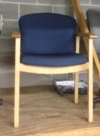 Used Wood Guest Chair for Sale