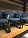 Steel Upholstered Exam Room Chairs